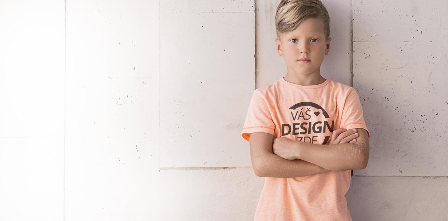 Dětská trička banner